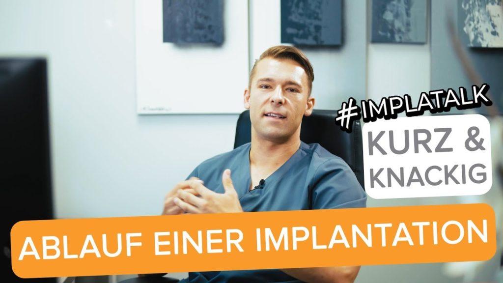 Ablauf Implantation