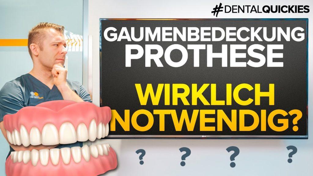Gaumenfreier Zahnersatz 2